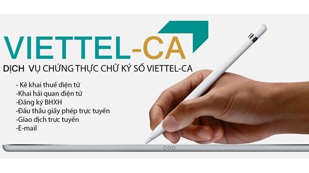 Thu Tuc Chuyen Doi Nha Cung Cap Chu Ky So Viettel Ca